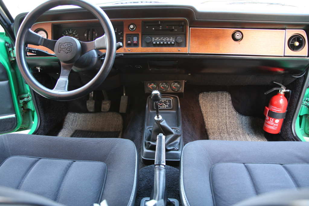 Ford Taunus GXL May Turbo Cockpit