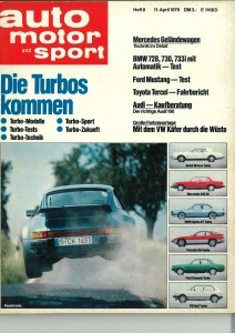 AMS April 1979 Bericht  Ford Mustang