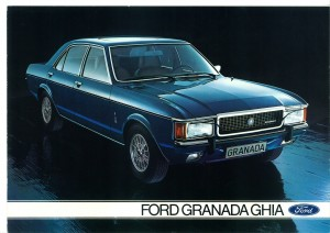 Prospekt Ford Granada Ghia August 1975