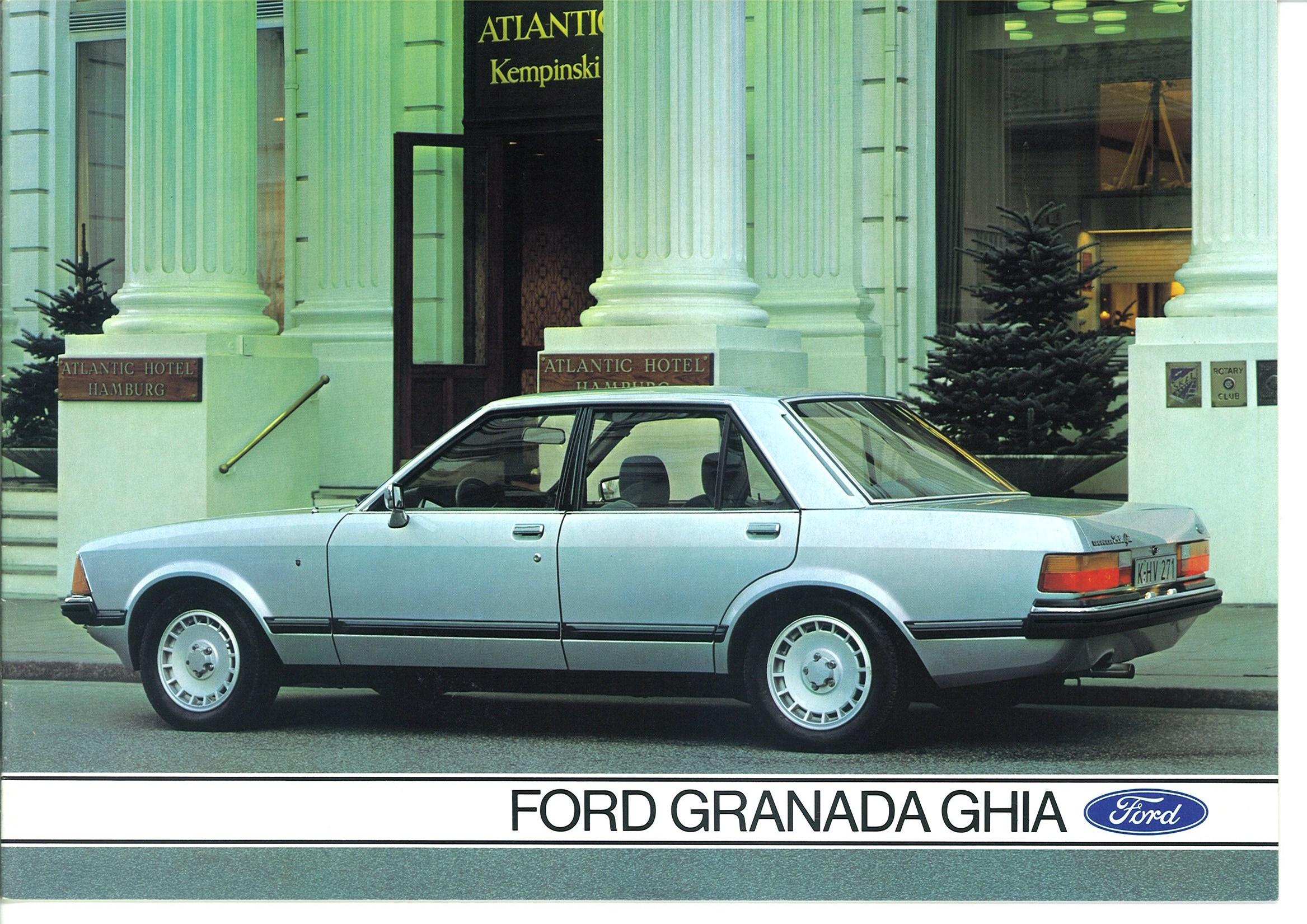 Prospekt Ford Granada Ghia