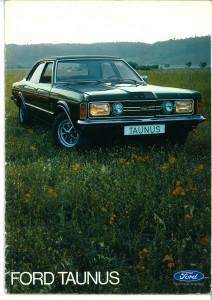 Prospekt Ford Taunus 1971