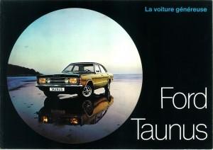 Prospekt Ford Taunus 1971 Frankreich