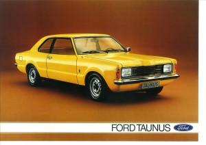 Prospekt Ford Taunus August 1975