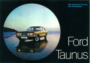 Prospekt Ford Taunus Oktober 1970