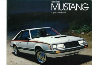 US Prospekt Ford Mustang 1979