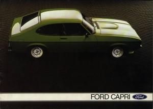 Prospekt Ford Capri 2 1976