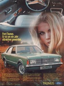 Werbung Ford Taunus Knudsen XL
