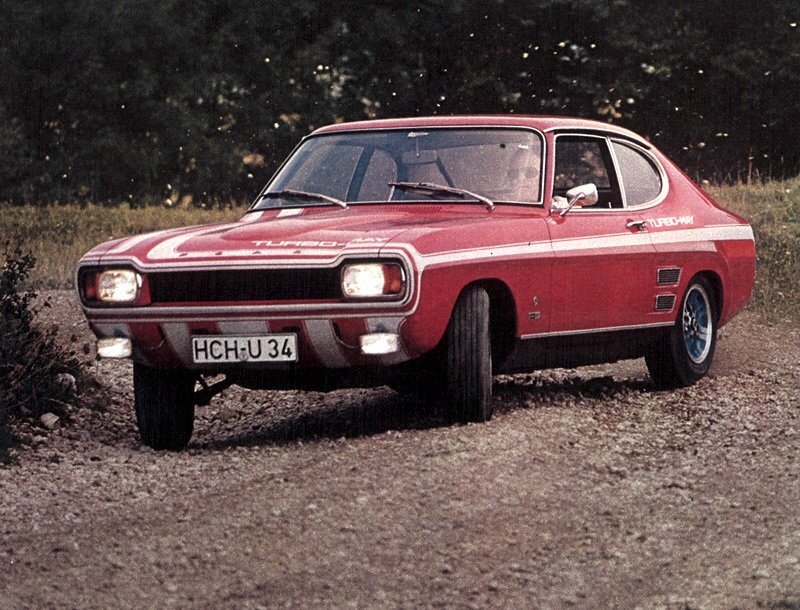 Ford Capri May Turbo