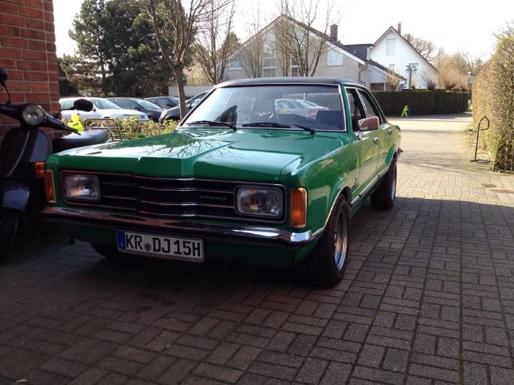 Ford Taunus May Turbo 2,3 V6
