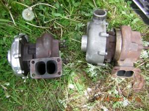 Links KKK LKZ für 2.8 V6 und rechts der KKK 3LD für 2,3 V6